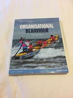Organisational behaviour 8th edition