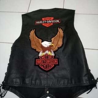 Vest kulit size large madein usa
