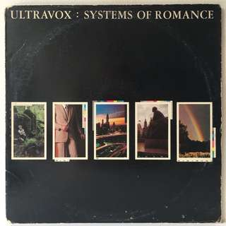 Ultravox ‎– Systems Of Romance (1978 USA Original - Vinyl is Excellent)