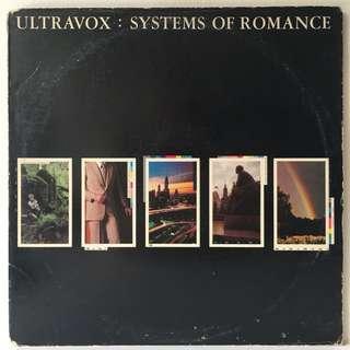 Ultravox – Systems Of Romance (1978 USA Original - Vinyl is Excellent)