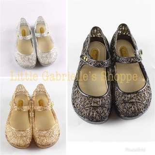 Mini Melissa Campana Inspired size 27(16.8cm)Gold available