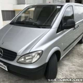 Merz Vito 111i Auto ( New 5 Years COE )