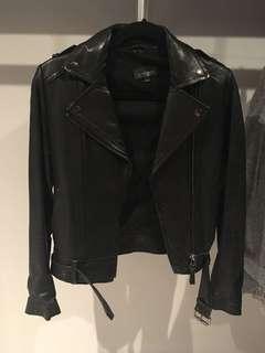 Aritzia mackage Florica moto style leather jacket