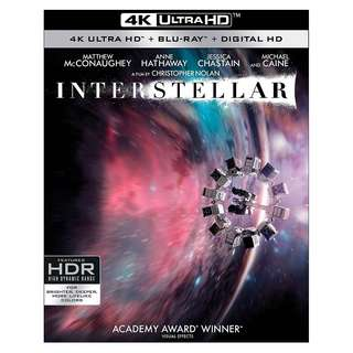 🆕 Interstellar 4K UHD + Blu Ray