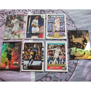 Gareth Bale trading cards for sale/trade (Lot of 7 cards)