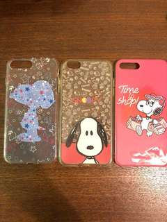 Snoopy IPhone 7/8 Plus case