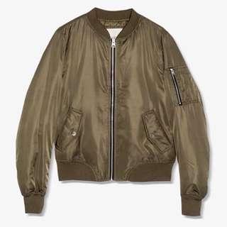 Pull and bear bomber jacket