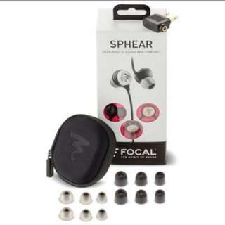 BN Focal Sphere In-ear Earphones