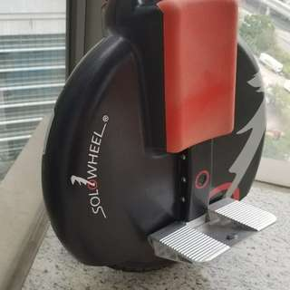 單輪電動車 Solowheel