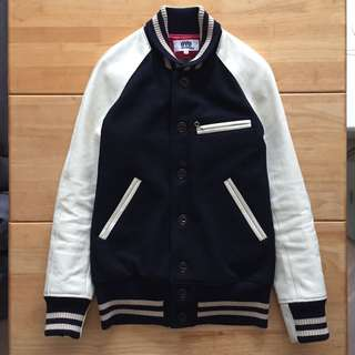 eYe JUNYA WATANABE MAN Comme des Garcons x Johnson Leathers Varsity Jacket