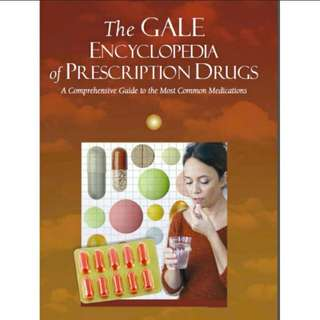 Ebook The GALE ENCYCLOPEDIA of Prescription DRUGS