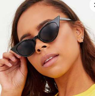 Instock Extreme Cat Eye Sunglasses