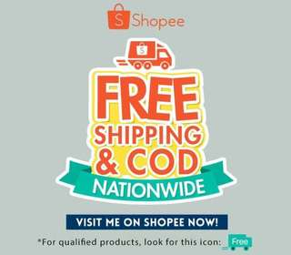 Make a minimum order of Php 250 to get free shipping!