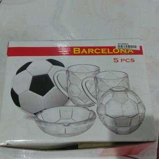 Barcelona set 5 in 1