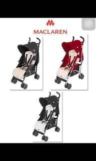 (Brand New) Maclaren Quest Stroller