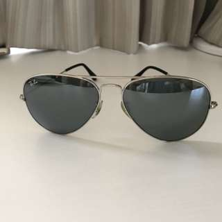 Authentic Ray Ban Sunglasses 55mm