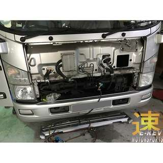 Nissan Cabstar Aircon Cooling Coil Replacement