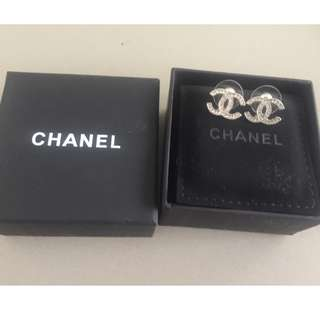 genuine chanel earrings