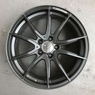 "Used 18"" Mercedes Rims"