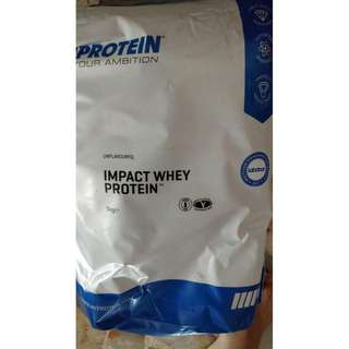 Myprotein Impact Whey 5kg 200 Servings Unflavored
