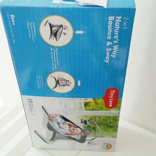 Tiny Love 2 in 1 bouncer and swing