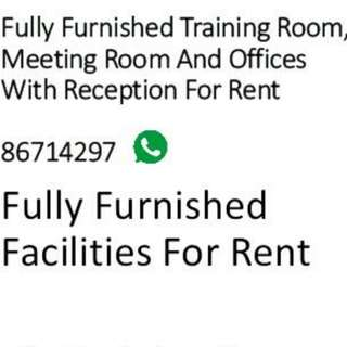 Meeting Room and Offices with Reception for Rent