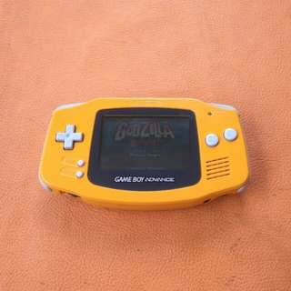 Handheld Nintendo Game Boy Advance Spice Orange.
