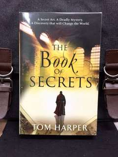 # Novel《Bran-New + Action-Packed Mystery Thriller Fiction》Tom Harper - THE BOOK OF SECRETS : A Secret Art. A Deadly Mystery, A Discovery That Will Change The World
