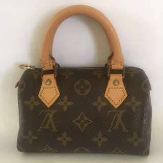 Authentic Louis Vuitton Mini Sac HL