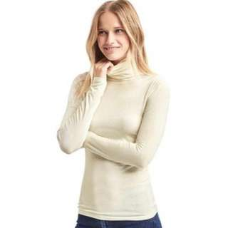 GAP Woman turtleneck L/S Beige top