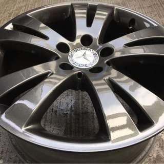 "Pre-Owned 17"" Original Mercedes Sports Rim"