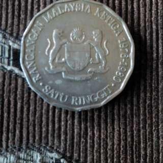 Syiling lama Rancangan malaysia ketiga 1876-1980