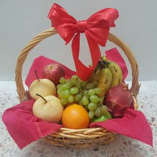 RUBY RED Tropical Fruit Basket