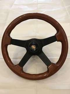 Selling Classic Vintage Toyota Real Wood Steering Wheel.