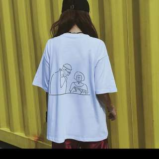 [PO]Ulzzang harajuku brandy melville oversized tumblr t-shirt tee top
