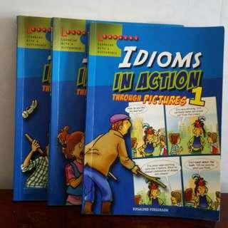 3 Idioms books