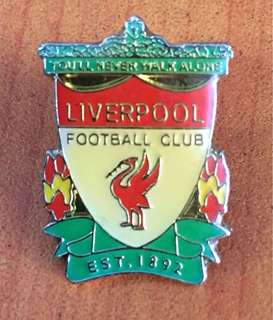 Collectibles vintage...LIVERPOOL FOOTBALL CLUB PIN BADGE