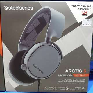 [SteelSeries] Arctis 3 Limited Edition (Slate Grey)