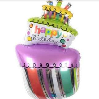 Cake Tower Foil Balloon (100x54cm)