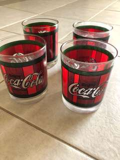 FREE : Coca Cola Glasses Set Of 4