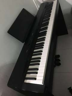 Casio privia px 160 with stand and bench , full working condition , used rarely