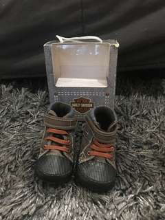 Baby Shoes Harley Davidson Official Licensed Product