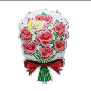 Flower Bouquet Foil Balloon (40x60cm)