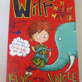 Wilf the Mighty Worrier is King of the Jungle