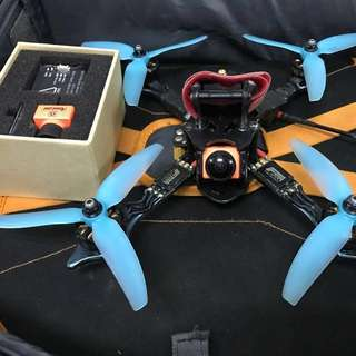 Racing/freestyle Bcrow drone BNF. Freestyle setup.