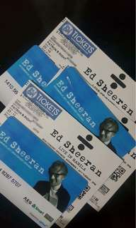 ED SHEERAN LIVE IN MANILA CONCERT TICKETS