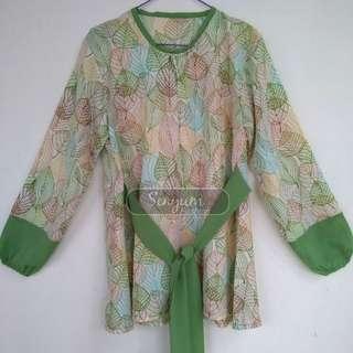 Green Leaf by Senyum Fashion