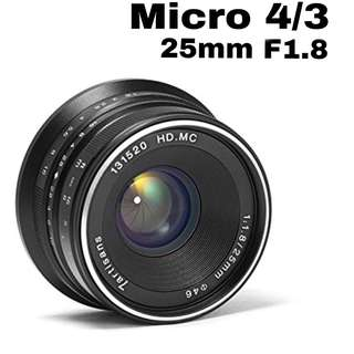 7artisans 25mm f1.8 for Micro4/3
