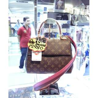 LV Louis Vuitton Brown Monogram Cluny BB M42738 Shoulder Hand Bag 路易威登 啡色 LV花 老花 手挽袋 手袋 肩袋 袋