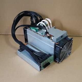 antMiner S7 w/ High Efficiency 1400W PSU
